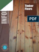 Historic Scotland INFORM leaflet - Timber Floors