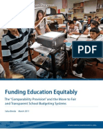 Funding Education Equitably
