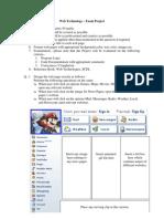 Web Technology - Exam Project