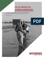 Informe ECODES MC Perspectiva de Género en Las Migraciones Climáticas