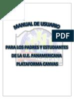 MANUAL CANVAS U.E. PANAMERICANA PPFF-1