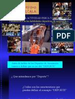 Federaciones y Deportes de Asociación 2008