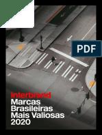 Interbrand - Marcas Brasileiras Mais Valiosas 2020