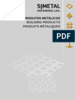 Catalogo S.J. Metal Distendido, Lda