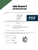 Estado Gaseoso - Ecuac. Univers