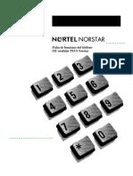 Funciones Norstar SIC Modular