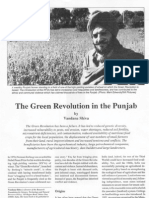 Green revolution in punjab