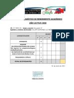 Cuadro Estadístico-2 A