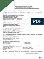 Exercícios de Revisão de Direito e Legislação Tributária