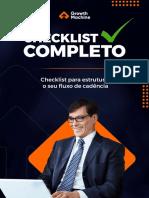 Checklist - Como estruturar seu fluxo de cadência