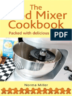 The Food Mixer Cookbook - Norma Miller