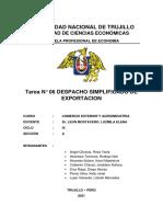 tarea 6 Comercio Exterior y Agroindustria