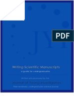 JYI Scientific writing