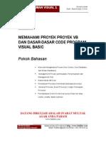 Modul 4 Memahami Proyek Proyek VB Dan Dasar-Dasar VB Code Visual Basic