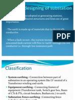 Earth mat designing of substation