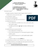 CONCURSO DE ORTOGRAFIA CATEGORIA A 1º-2º