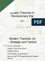 Modern Theorists III-Revolutionary War