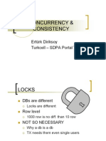 CONCURRENCY & LOCKING