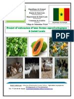 VF. Projet d'extension d'une ferme agroecologique - Saint Louis