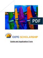 COTC Scholarship Guide and Application Form