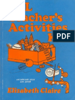 English Teaching Resources Esl Teacher's Activities Kit By Elizabeth Claire