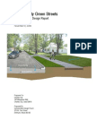 Charles City, iowa permeable pavement project report