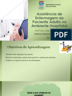 Assistência de Enfermagem ao Paciente Adulto no Ambiente2