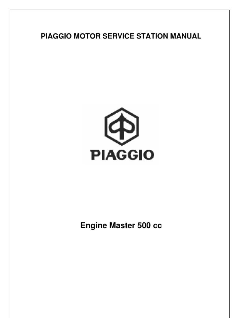 Piagio 500cc | Engines | Propulsion