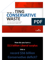 Cutting Conservative Waste