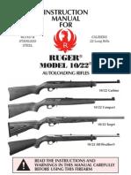 Ruger 1022 Manual
