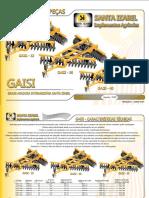 CATALOGO GAISI Grade Aradora Intermediaria Santa Izabel 32-36-40 Rev 1 Min