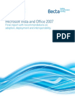 Report on Vista & Office 2007