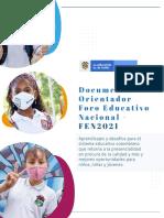 Documento Orientador FEN2021