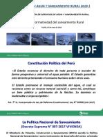 02_Normtividad Del Saneamiento Rural_05.05.2018