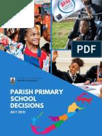Parish Parish School Decision Report