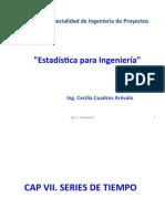 Estadística para ingeniería