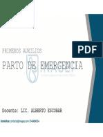 10. Parto de emergencia