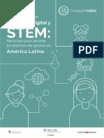 Género y Covid en Educación Digital y STEM