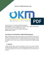 Top 5 Reasons You Should Hire a Digital Marketing Agency