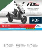 Manual de Garantía y Mantenimiento Kymco FLY 125