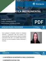0 - AULA INICIAL - MATEMÁTICA
