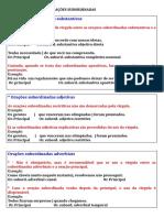 O USO DA VÍRGULA NAS ORAÇÕES SUBORDINADAS e coordenadas.doc