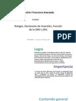 U3_Riesgos, Decisiones de Inversión, Función de La SMV y BVL (3)