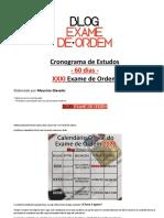 Download-334008-Cronograma de Estudos - 60 Dias - XXXI Exame de Ordem-12981949