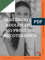 eBook 2 - O Silêncio Do Adolescente No Processo Psicoterápico