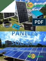 CATALOGO  PANELES SOLARES 2019
