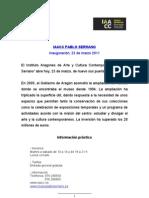 DOSSIER Exposiciones Del Museo Pablo Serrano