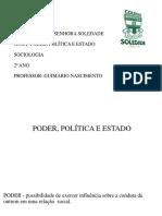 16-Poder, Politica e Estado - Sociologia