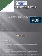 3. Anestesia Em Odontopediatria