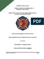 Manual de Procedimiento para el Certificado de Ocupacion 12-2018
